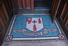 Mosaic in the doorway of Erith library Mosaic Glass, Mosaic Tiles, Mosaics, River Thames, Doorway, Public Art, Old Photos, London, History