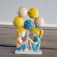 Vintage Revere Earring Tree 1970's Boy Girl by HazeyJaneVintage