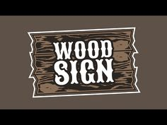 ▶ Inkscape Tutorial: Vector Wood Sign Logo - YouTube