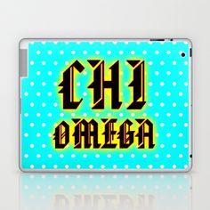 chi omega,  (ΧΩ)  Laptop & iPad Skin by seb mcnulty - $25.00