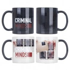 Criminal Minds Heat Sensitive Mug