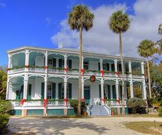 DeBary Hall is beautifully decorated for Christmas. http://visitwestvolusia.com/whattodo.cfm/mode/historicalattractionshttp://debaryhall.com/