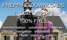 1.15GB of PDFs. 100% free, no strings attached. Put them on a USB flash drive and toss it in your bug out bag.