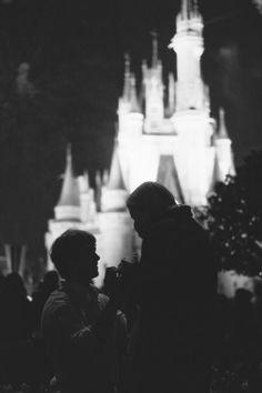 Surprise proposal at Disney World... so cute.