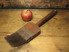 Early Old Primitive Flax Comb  #HannahsHouseAntiques #Primitives  http://www.rubylane.com/item/497177-8003/Early-Primitive-Flax78-Comb