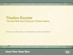Timeless Legal Presentation Template For Keynote
