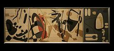 contrapunctus by sam vanni Mid Century Modern Art, Mid-century Modern, Rock, Canvases, Abstract, Paintings, Screens, Stone, Paint