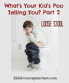 Loose Stools: What's Your Kid's Poo Telling You Part 2. Find out the cause of loose stools and how you can restore digestive balance.