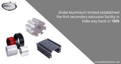 Did you know that we established the first secondary extrusion facility in India way back in 1968?  Visit http://www.jindalaluminium.com/jindal-history.php for interesting milestones in Jindal Aluminium Limited history. #JindalAluminium #AluminiumExtrusion