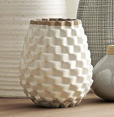 Fabulous Design Geometric Vase Looks Like a Mediterranean Accesories Decor