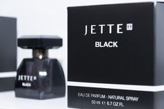 the new fragrance by #JetteJoop: #JetteBlack #douglas