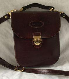 Vintage Oroton Australia Leather Cross Body Brown Bouche Purse Satchel Women S