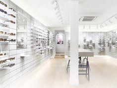 High-quality designer glasses from 175 CHF. ▶ Visit us. Bern, Eye Exam, Chf, Optician, Minimalist Interior, Minimalism, Sunnies, Sunglasses, Interior Design