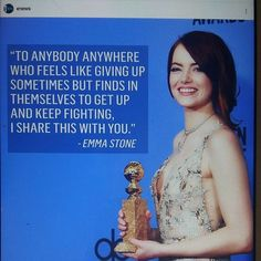 CULTURE NEWS, GOLDEN GLOBE. LA LA LAND MOVIE take 7 PRIZE. 10.1.2017 ACTRESS Emma Stone ACTRESS Prize. CONCURLATIONS. I have seen Trailer, MUST Watch MOVIE my list. @goldenglobe #cultures #movie #news #prizes #prize #la la land #actress #best @emmastone ⌚❤☺