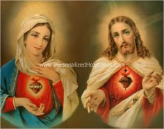 Custom Catholic holy cards personalized prayer cards