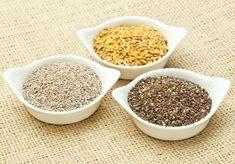 Quais são as diferenças entre quinoa, linhaça e chia?