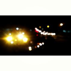 Jogja di malam hari.  from plengkung gading #jogja #lights #traffic #photography