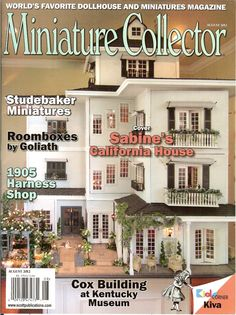 dollhouse collector magazine | Miniature Collector : Earth and Tree, Dollhouses and Miniatures in New ...