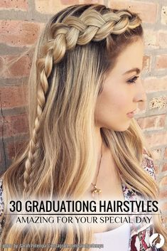 When it comes to graduation hairstyles, limitless imagination allows us to create the most beautiful and memorable hairstyles! We've gathered 30 most gorgeous hairdos for a prom night. ★ See more: http://glaminati.com/amazing-graduation-hairstyles-for-your-special-day/?utm_source=Pinterest&utm_medium=Social&utm_campaign=FI-amazing-graduation-hairstyles-for-your-special-day-28