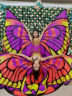 Танец с крыльями бабочка! Крылья для танца!!!