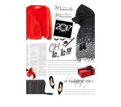 """New Years  2017"" by amimcqueen ❤ liked on Polyvore featuring Maticevski, Matthew Williamson, Preen, Lanvin, Sergio Rossi, Bobbi Brown Cosmetics and Maison Margiela"