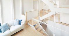 縦の家―階段を通して家族がつながる家|無印良品の家