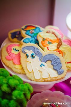 My Little Pony Birthday Party via Kara's Party Ideas KarasPartyIdeas.com Cake, decor, tutorials, recipes, favors and MORE! #mylittlepony #mylittleponyparty #ponyparty #rainbowparty #girlpartyideas (22)