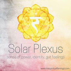 You are likely to be familiar with the 3rd chakra or Solar Plexus (Manipura in Sanskrit) even if you are not big on energy healing. This centre is the one responsible for gut feelings, instinctive first impressions and emotional intuition. I'm sure you regularly see this chakra in action. The Solar Plexus is also associated with will, social identity and power. It's a key charkra for work related issues, career and hierarchy. If you are struggling with any of the above check in with this…