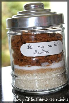 rice pudding kit – speculoos or carambar - Gourmet Gifts, Food Gifts, Sos Recipe, Reception Food, Jar Gifts, Different Recipes, Diy Food, Coco, Love Food