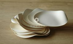 #homedesign Superb biodegradable plates & cups by W A S A R A