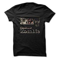 Keep Calm And Kill Zombies - #band shirt #casual tee. MORE INFO => https://www.sunfrog.com/Zombies/Keep-Calm-And-Kill-Zombies-912p.html?68278