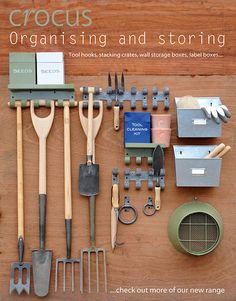 Good OrganiZing And Storing   Tool Hooks, Stacking Crates, Wall Storage Boxes,  Label Boxes