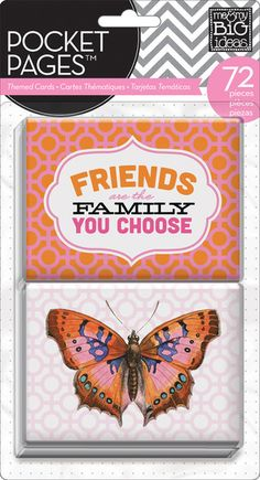 mambi pocket pages Themed Cards -  Friends
