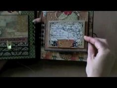 Travel Mini-Album 6x6 World Traveler-Album has a really cool fold our page
