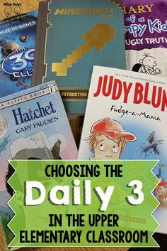 Choosing The Daily 3 in the Upper Elementary Classroom Have you seen this? We shared why we have switched to doing the Daily 3 instead of the Daily 5 – and how it works in our classrooms! 5th Grade Ela, 5th Grade Classroom, Third Grade Reading, School Classroom, Fourth Grade, Classroom Ideas, Sixth Grade, 5th Grade Centers, 5th Grade Writing