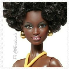 Salute the the natural hair Barbie