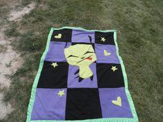 Invader Zim Baby Blanket