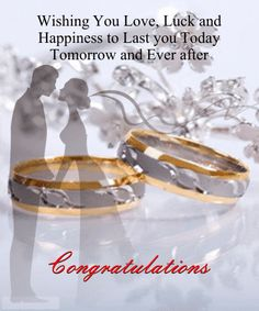 Congratulate a newly married couple with the purest form of blessing! #Wedding #Congratulation Ecard by www.123greetings.com