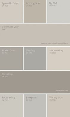 11 most amazing best gray paint colors Sherwin Williams. 11 most amazing best gray paint colors Sherwin Williams. Farmhouse Paint Colors, Exterior Paint Colors, Paint Colors For Home, House Colors, Paint Colours, Wall Painting Colors, Beige Wall Colors, Gray Exterior, Painting Doors