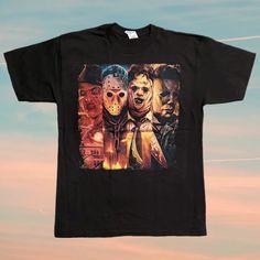 Horror Merch, Freddy Krueger, Michael Myers, Link, Christmas, Mens Tops, Shirts, Xmas, Freddy Krueger Mask