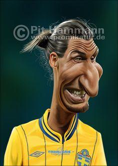 N♡T.Zlatan-Ibrahimovic-karikatur - www.ideo-gene.net - Générateur d'Optimistes Pragmatiques