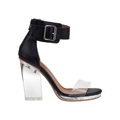 Jeffrey Campbell Soiree Clear Heeled Sandal, $125, urbanoutfitters.com