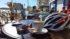 Kawa i rower receptą na zdrowie !