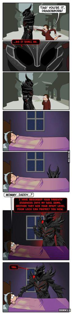 Why I love Dorkly, and Skyrim!