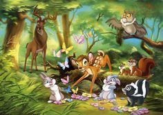 Bambi, Panpan et Fleur