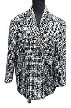 Jones York Signature Black White Tweed Lined Rayon Blend Blazer 2x 4711a. Free shipping and guaranteed authenticity on Jones York Signature Black White Tweed Lined Rayon Blend Blazer 2x 4711a<br>JONES NEW YORK SIGNATURE Black White Tweed Lin...