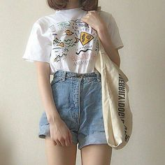korean fashion aesthetic outfits soft kfashion ulzzang girl 얼짱 casual clothes grunge minimalistic cute kawaii comfy formal everyday street spring summer autumn winter g e o r g i a n a : c l o t h e s Korean Outfits, Mode Outfits, Retro Outfits, Trendy Outfits, Vintage Outfits, Summer Outfits, Grunge Outfits, K Fashion, Korean Fashion