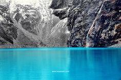 Huaraz, Peru, South America traveling - Andes - Cordillera Blanca - lake 69