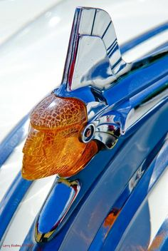 Pontiac Art Deco Hood Ornament Photograph - Pontiac Art Deco Hood Ornament Fine Art Print