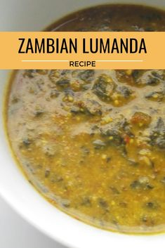 Lumanda with Pounded Groundnuts – Zambian Kitchen - ZAMBIAN WOMAN Magazine - Lumanda with Pounded Groundnuts – Zambian Kitchen Zambia food lumanda is made from a sour taste vegetable and is great in peanut powder. Zambian Food, Peanut Powder, Sour Taste, Nigerian Food, Food Tags, Crockpot Dishes, Creamy Pasta, African Recipes, Ethnic Recipes